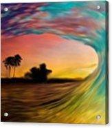 See Thru Wave Acrylic Print