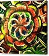 Seed Of Life Acrylic Print