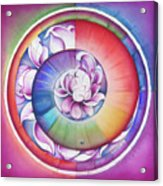 Seed Of Life - Mandala Of Divine Creation Acrylic Print