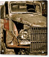 Seen Better Days Acrylic Print