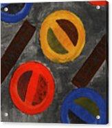 Segments 3 Acrylic Print