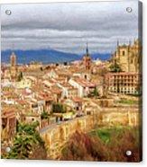 Segovia Cathedral View Acrylic Print