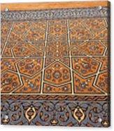 Sehzade Mosque Prayer Carpet Acrylic Print