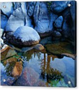 Sekani Rocks Tahoe Acrylic Print