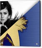 Selena Gomez Collection Acrylic Print