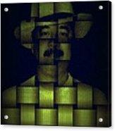 Self - Portrait Acrylic Print by Teodoro De La Santa