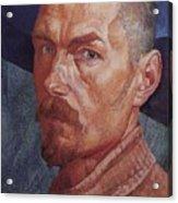 Self 2 1926-1927 Kuzma Sergeevich Petrov-vodkin Acrylic Print