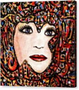 Self-portrait-6 Acrylic Print