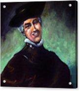 Self Portrait A La Rembrandt Acrylic Print