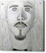 Self-portrait Drawing Acrylic Print