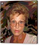self portrait II Acrylic Print