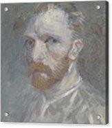 Self-portrait Paris, July   August 1887 Vincent Van Gogh 1853  1890 Acrylic Print