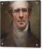 Self Portrait Acrylic Print by Rembrandt Peale