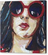 Self Portrait Acrylic Print