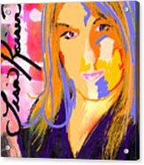 Self Portraiture Digital Art Photography Acrylic Print