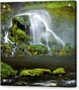 Selja Land Foss Acrylic Print