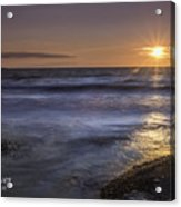 Selkirk Shores Sunset Acrylic Print