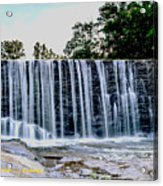 Sells Mill Waterfall Acrylic Print