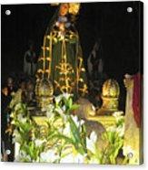Semana Santa Procession Night Acrylic Print