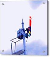 Semaphore Signal Acrylic Print