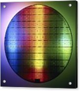 Semiconductor Wafer Acrylic Print