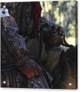 Seminole Horseman Acrylic Print
