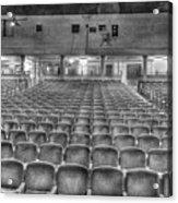 Senate Theatre Seating Detroit Mi Acrylic Print