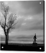 Senator Chafee And The Tree Acrylic Print