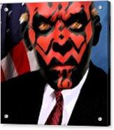 Senator Darth Maul Acrylic Print