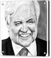 Senator Edward Kennedy Acrylic Print