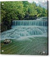 Seneca Mills Waterfall Acrylic Print
