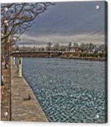 Seneca Falls Waterfront Acrylic Print