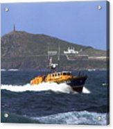 Sennen Cove Lifeboat Acrylic Print
