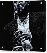 Sensational Sax Acrylic Print