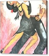 Sensual Tango Acrylic Print
