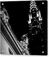 Sentinel For Grand Central Acrylic Print