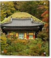 Seokguram Grotto Acrylic Print