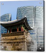 Seoul, Old And New Acrylic Print