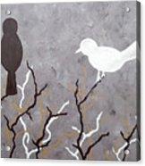 Sepia Simplicity Acrylic Print