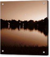 Sepia Sunset Acrylic Print
