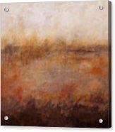 Sepia Wetlands Acrylic Print
