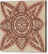 Sepia Zen 2 Acrylic Print