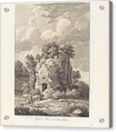 Sepolcro A Falerium Citt? Etrusca Ditrutta Acrylic Print