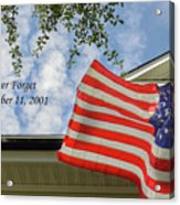 September 11 Acrylic Print