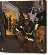 September 11th Rescue Workers Receive Acrylic Print