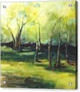 September At Mac O Cheek Acrylic Print