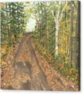 September Acrylic Print