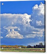 September Clouds Acrylic Print