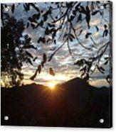 September Sunset 11 Acrylic Print