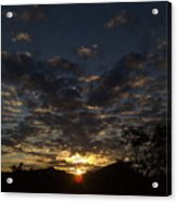 September Sunset 13 Acrylic Print